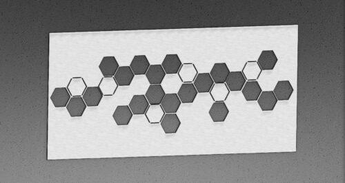 Faldekoráció_hexagon
