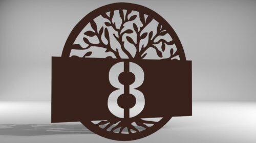 házszám életfa